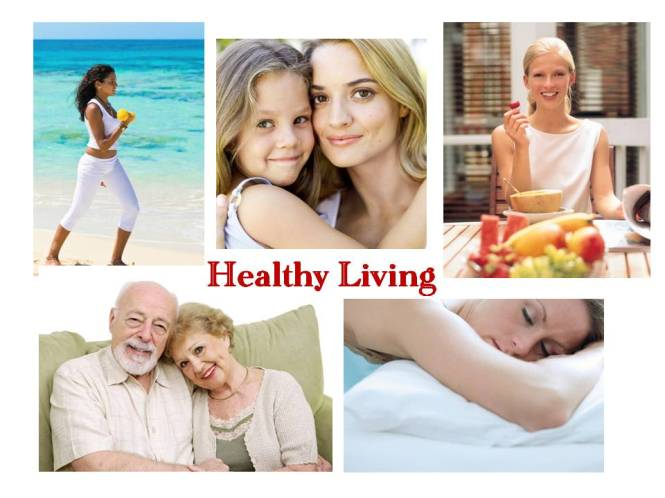 Healthy Living Collage